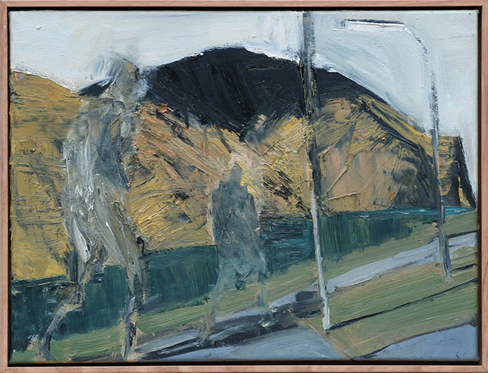 Church Bay Study with Lamposts, Euan Macleod
