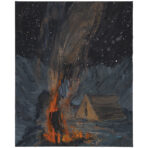 Study for Night Campfire (SOLD)