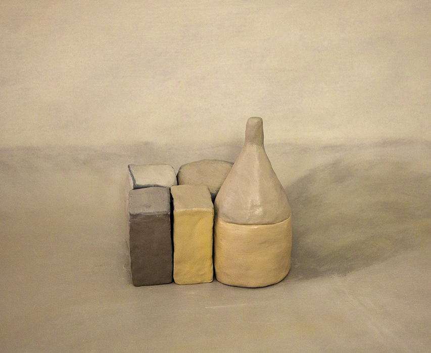 Still Life VII (after Morandi), Julia Holden, 2018, archival pigment print, 345 x 415mm