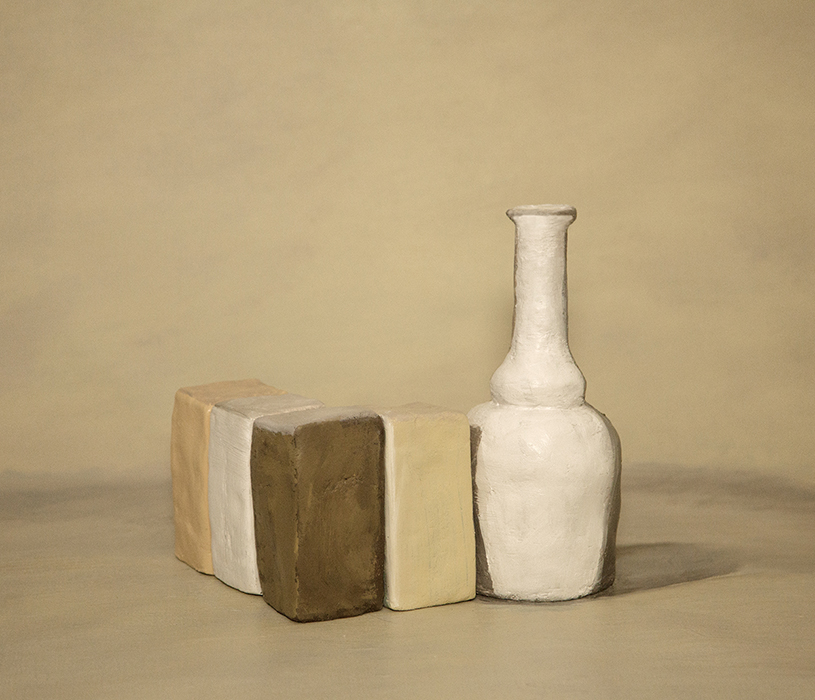 Still Life VIII (after Morandi), Julia Holden, 2018, archival pigment print, 325 x 375mm