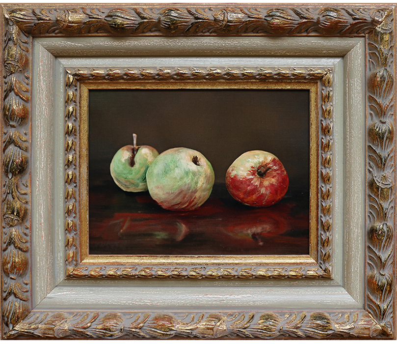 'Apples (after Manet)', 2018, archival pigment print, 460x490mm