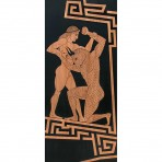 Theseus and the Minotaur in the Labyrinth