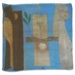 Limited edition scarves, designed by Simon Ogden, made in Italy, modal cashmere, 1480 x 1480mm, $280