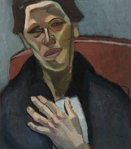 'The Spanish Woman' by Edith Collier, 1920, oil on canvas